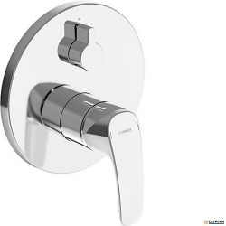 HANSAPINTO Monomando empotrado de baño/ducha cromado