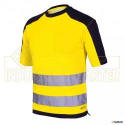 8186HV- Camiseta manga corta alta visibilidad