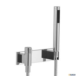 SYMETRICS- Conjunto ducha con cubierta y válvula