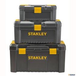 ESSENTIAL- Caja de herramientas con cierres de plástico