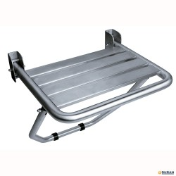 AM0251CS- Asiento ducha abatible con apoyo Inox