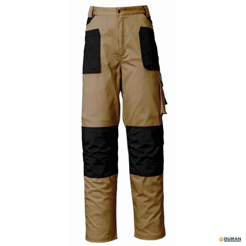 STRETCH- Pantalón de trabajo con tejido elástico y 97% algodón