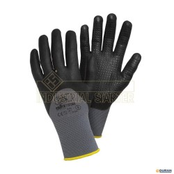 DOTS CATCH Guantes de seguridad T-9 negros