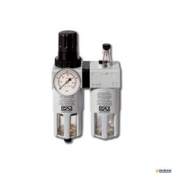 """FRL Filtro regulador lubricador de 1/4"""""""