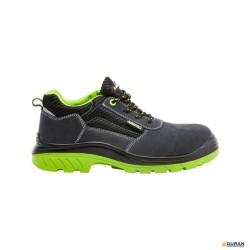 COMP + Zapatos de seguridad serraje gris