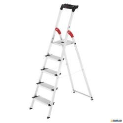 XXL EasyClix Escalera de tijera de aluminio