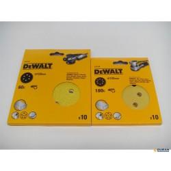 Discos de lija con velcro de 125 y 150mm