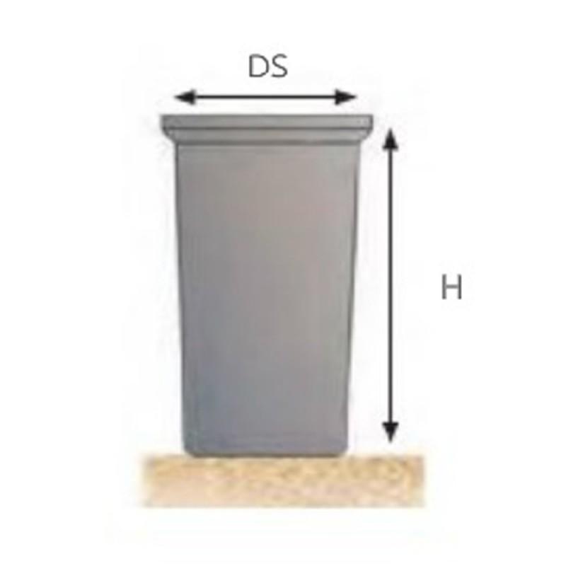 Remosa DC-TC- Depósitos cilíndricos para agua