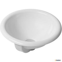 Architec - lavabo redondo de 400 mm. con rebosadero. De Duravit