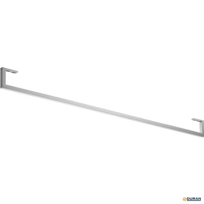 Toallero para lavabos 32910 y 34210 de Duravit tubo cuadrado de 14mm cromado