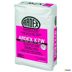 Cemento cola Ardex X7W saco 25 kilos blanco