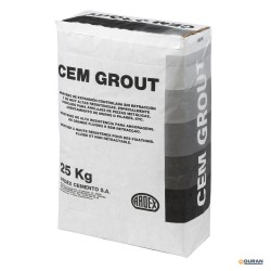 Mortero estructural Ardex CEM-GROUT 25 kilos color gris