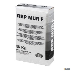 Mortero Reparación Ardex REP-MUR 25 kilos color gris