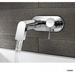 Serie Hansastela - Monomando mural para lavabo