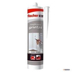 Masillas acrílicas para relleno de grietas - Fischer 300ml blanco