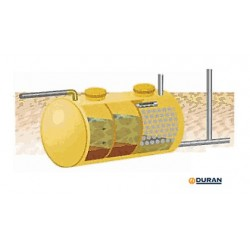 Fosa séptica Remosa FS4 de 1000 litros