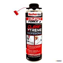 Clean Xtreme - limpiador de pistolas aplicadoras con espuma de poliuretano. Bote de 500 ml. de Fischer