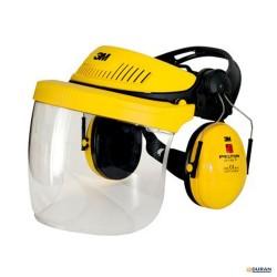 3M G500IND1- Arnés de cabeza para protección facial y auditiva