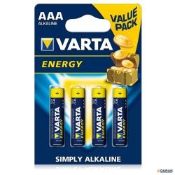 Varta Energy- Pilas alcalinas básicas.