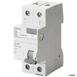 SENTRON-5SV- Interruptores diferenciales con 2P