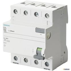 SENTRON-5SV- Interruptores diferenciales con 4P