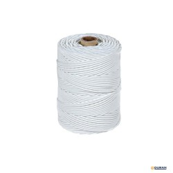 Cordón polietileno de 3mm y 25 mts en color blanco