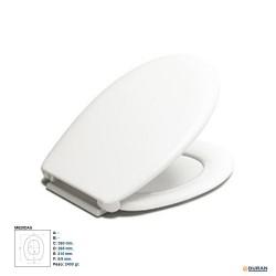 REINA- Asiento universal para Inodoro blanco