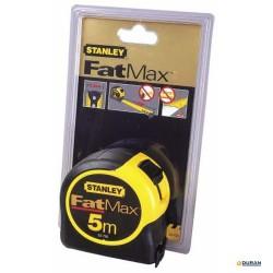 Flexómetro de 5 mts de Stanley Fatmax blade armor