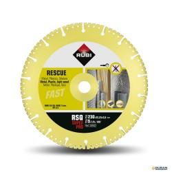 RSQ SUPER PRO- Disco Rescue de 230mm